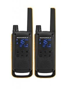 Motorola Talkabout T82 Extreme Twin Pack radiopuhelin 16 kanavaa Musta, Oranssi Motorola 188081 - 1