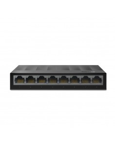 TP-LINK LS1008G verkkokytkin Hallitsematon Gigabit Ethernet (10/100/1000) Musta Tp-link LS1008G - 1