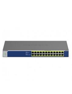 Netgear GS524PP Hallitsematon Gigabit Ethernet (10/100/1000) Power over -tuki Harmaa Netgear GS524PP-100EUS - 1