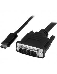 StarTech.com CDP2DVIMM1MB videokaapeli-adapteri 1 m USB Type-C DVI-D Musta Startech CDP2DVIMM1MB - 1