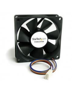 StarTech.com FAN8025PWM datorkylningsutrustning Datorväska Fan 8 cm Svart Startech FAN8025PWM - 1
