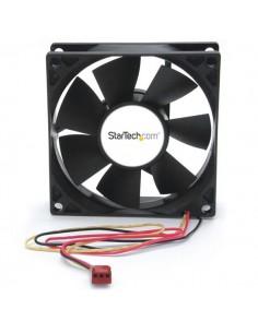 StarTech.com FANBOX2 datorkylningsutrustning Datorväska Fan 8 cm Svart Startech FANBOX2 - 1