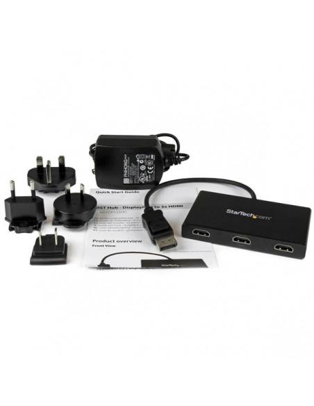 StarTech.com MSTDP123HD videohaaroitin DisplayPort 3x HDMI Startech MSTDP123HD - 5