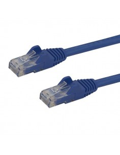 StarTech.com N6PATC10MBL nätverkskablar Blå 10 m Cat6 U/UTP (UTP) Startech N6PATC10MBL - 1