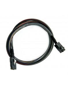 Microsemi ADAPTEC I-HDMSAS-MSAS-.5M CABLE 0.5 m 6 Gbit/s Musta Microsemi Storage Solution 2281200-R - 1