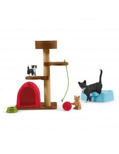 Schleich Playtime for cute cats Schleich 42501 - 1