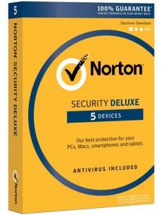 NortonLifeLock Norton Security Deluxe 3.0 Täysi lisenssi 1 lisenssi(t) vuosi/vuosia Saksa Symantec 21355368 - 1