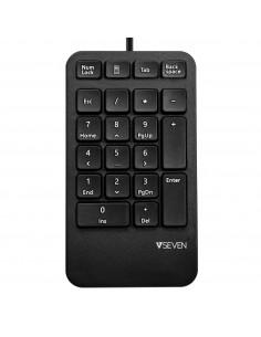 V7 KP400-1E Numeerinen näppäimistö USB Universaali Musta V7 Ingram Micro KP400-1E - 1