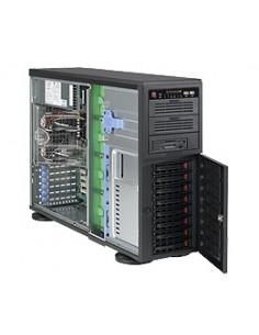 Supermicro SuperChassis 743TQ-865B, Black Midi Tower Svart 865 W Supermicro CSE-743TQ-865B - 1