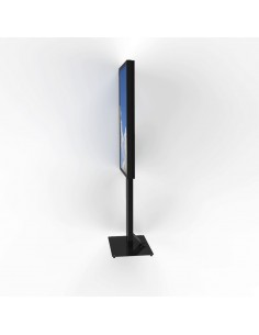 HI-ND Floorstand portrait for Samsung QM55R Multimediateline Musta Litteä paneeli Hi Nd FS5511-5101-02 - 1