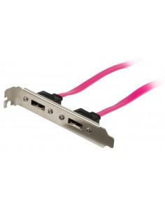 Valueline VLCP73800R05 SATA-kaapeli 0,5 m SATA 7-pin Vaaleanpunainen Valueline VLCP73800R05 - 1