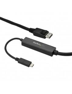 StarTech.com 3 m USB-C till DisplayPort-kabel - 4K 60 Hz Vit Startech CDP2DPMM3MB - 1