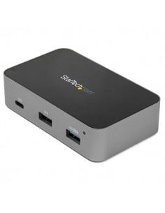 StarTech.com HB31C3A1CS keskitin USB 3.2 Gen 2 (3.1 2) Type-C 10000 Mbit/s Musta, Harmaa Startech HB31C3A1CS - 1