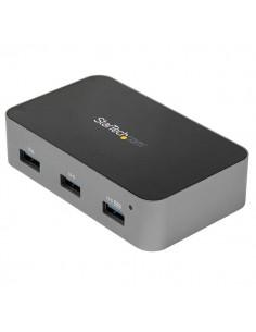 StarTech.com HB31C4AS keskitin USB 3.2 Gen 2 (3.1 2) Type-C 10000 Mbit/s Musta, Harmaa Startech HB31C4AS - 1