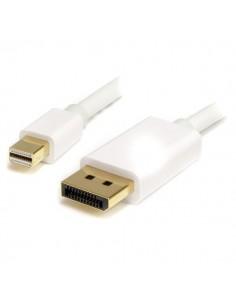 StarTech.com 3m White Mini DisplayPort/DisplayPort Valkoinen Startech MDP2DPMM3MW - 1