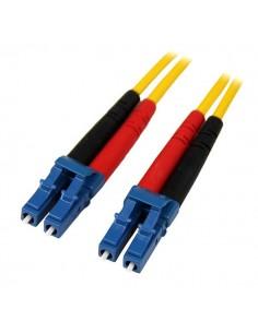 StarTech.com 1m LC - Single Mode Duplex Fiber valokuitukaapeli Keltainen Startech SMFIBLCLC1 - 1