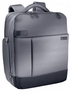 """Leitz 60170084 laukku kannettavalle tietokoneelle 39.6 cm (15.6"""") Reppu Musta, Hopea Kensington 60170084 - 1"""
