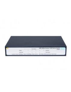 Hewlett Packard Enterprise OfficeConnect 1420 5G PoE+ (32W) Unmanaged L2 Gigabit Ethernet (10/100/1000) Power over (PoE) 1U Grey