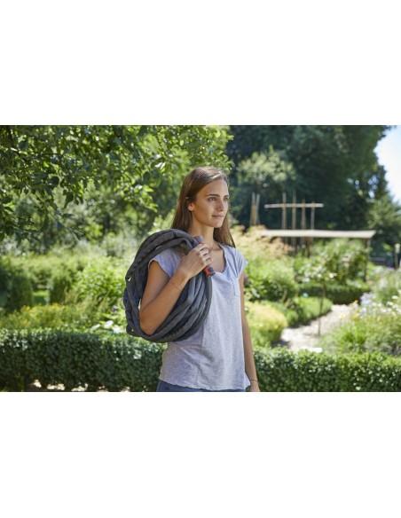 Gardena 18425-20 puutarhaletku 10 m Maanpinnan ylä-/alapuolella Musta, Oranssi Kangas Gardena 18425-20 - 6