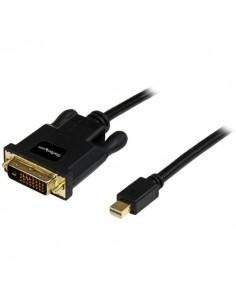StarTech.com 3 ft Mini DisplayPort to DVI Adapter Converter Cable – DP 1920x1200 - Black Startech MDP2DVIMM3B - 1