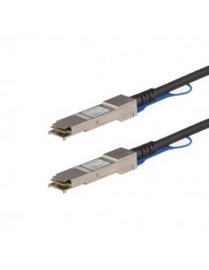 StarTech.com MSA-kompatibel QSFP+-twinaxkabel för direktanslutning - 1 m Startech QSFP40GPC1M - 1