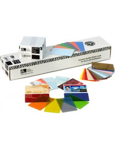 Zebra Premier PVC käyntikortti 500 kpl Zebra 104523-118-01 - 1