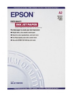 Epson Photo Quality Ink Jet Paper, DIN A2, 102g/m², 30 Sheets Epson C13S041079 - 1