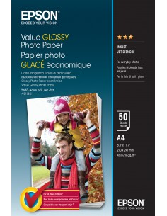 Epson Value Glossy - A4 50 sheets Epson C13S400036 - 1