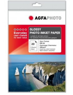 AgfaPhoto AP18020A4 valokuvapaperi Kiilto A4 Agfaphoto AP18020A4 - 1