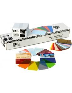 Zebra Premier Colour PVC käyntikortti 500 kpl Zebra 104523-134 - 1