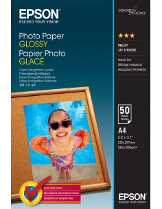 Epson Glossy - A4 50 sheets Epson C13S042539 - 1