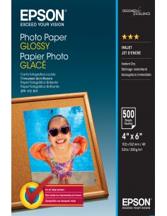 Epson Glossy - 10x15cm 500 sheets Epson C13S042549 - 1