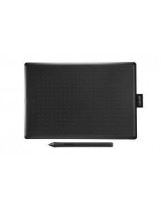Wacom One by Medium graphic tablet Black, Red 2540 lpi 216 x 135 mm USB Wacom CTL-672-N - 1