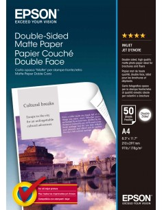 Epson Double-Sided Matte Paper - A4 50 arkkia Epson C13S041569 - 1