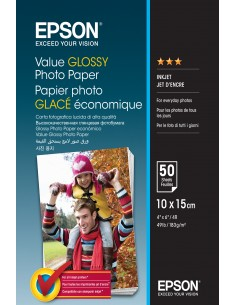 Epson Value Glossy - 10x15cm 50 sheets Epson C13S400038 - 1
