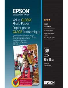 Epson Value Glossy - 10x15cm 100 sheets Epson C13S400039 - 1