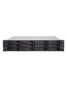 QNAP TS-h1277XU-RP NAS Rack (2U) Nätverksansluten (Ethernet) Svart, Grå 3700X Qnap TSH1277XURP3700X32G - 1