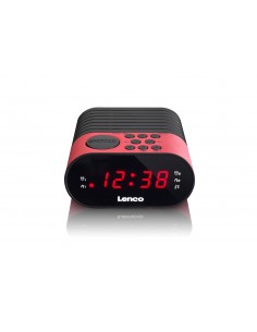 Lenco CR-07 radio Kello Musta, Vaaleanpunainen Lenco CR07 PINK - 1