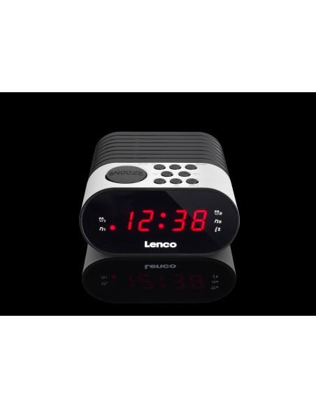 Lenco CR-07 Kello Musta, Valkoinen Lenco CR07 WHITE - 2
