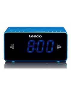 Lenco CR-520 Kello Digitaalinen Sininen Lenco CR520B - 1