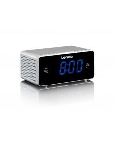 Lenco CR-520 radio Kello Digitaalinen Hopea Lenco CR520S - 1