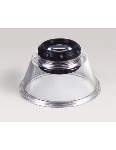 Kaiser Fototechnik 2332 magnifier 10x Black, Transparent Kaiser Fototechnik 2332 - 1