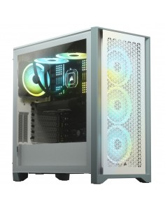 Corsair 4000d Airflow Temp Glass Mid Wht Corsair CC-9011201-WW - 1