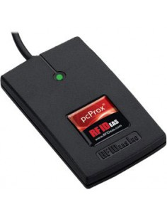 RF IDeas pcProx Enroll älykortin lukijalaite Musta RS-232 Rf Ideas RDR-6H81AK2 - 1
