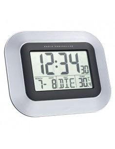 Technoline WS 8005 Radio controlled wall clock Musta, Hopea Technoline WS 8005 - 1