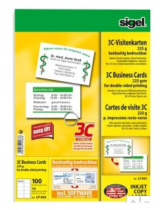 Sigel LP850 käyntikortti 100 kpl Sigel LP850 - 1