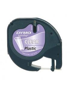DYMO 12mm LetraTAG Plastic tape etikettien kirjoitusnauha Dymo S0721550 - 1