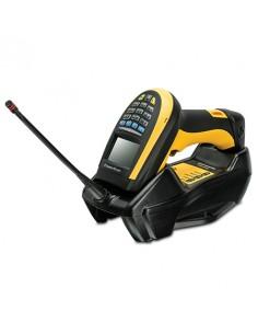 Datalogic PowerScan PM9100 Kannettava viivakoodinlukija 1D LED Musta, Keltainen Datalogic Adc PM9100-DK433RB - 1