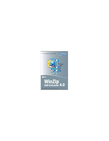 Corel Winzip Self-extractor 4 License (2 - 9) Corel LCWZSE4PCA - 1