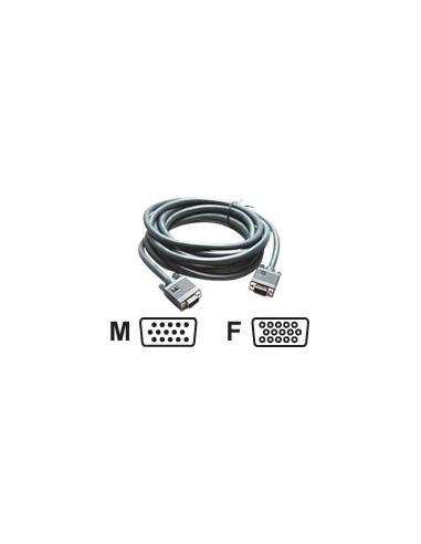 Kramer Electronics C-GM/GF-15 VGA cable 4.6 m (D-Sub) Black Kramer 92-6101015 - 1